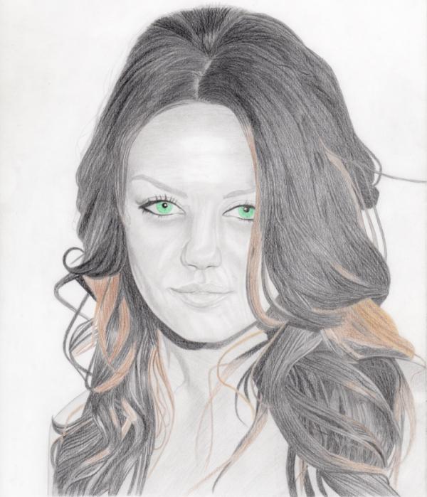 Mila Kunis by GumPen